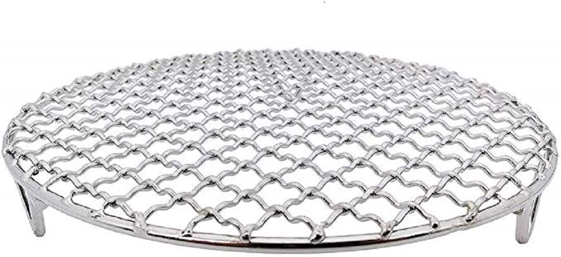 LissomPlume Round Cooling Rack, Baking Racks Stainless Steel Rust Proof Sturdy Durable Used For Fryer Oven Dia 11""