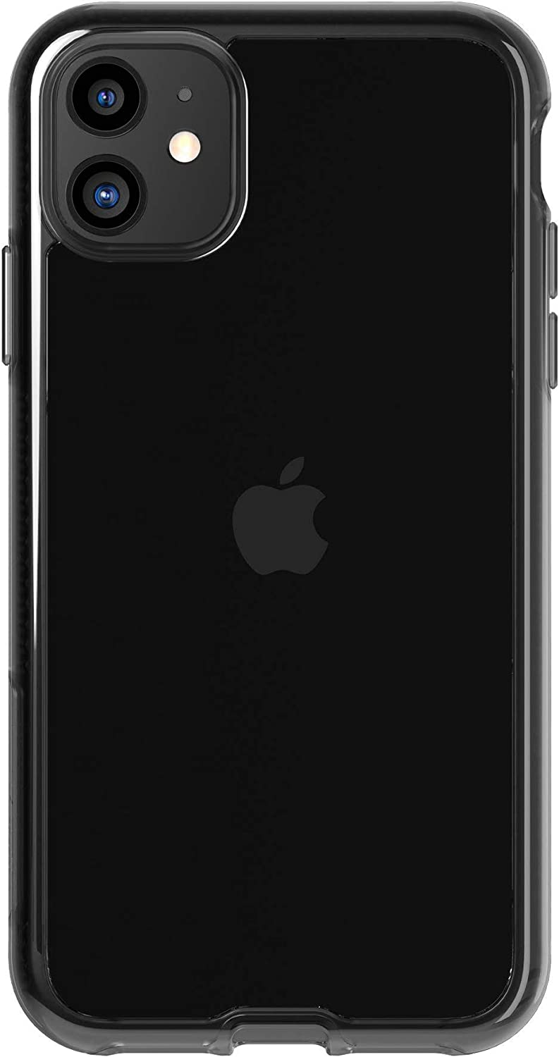tech21 Pure Tint for Apple iPhone 11 Phone Case - Hygienically Clean Bacterial Fighting Antimicrobial Properties with 10ft Drop Protection, Carbon