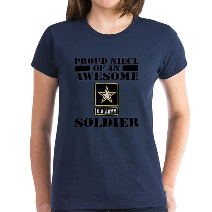 Amazon.com  CafePress - Proud Niece U.S. Army T-Shirt - Womens ... a04c994957