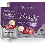 Colágeno Verisol Hidrolisado - 30 Sticke de 4G Red Berries - Sanavita, Sanavita