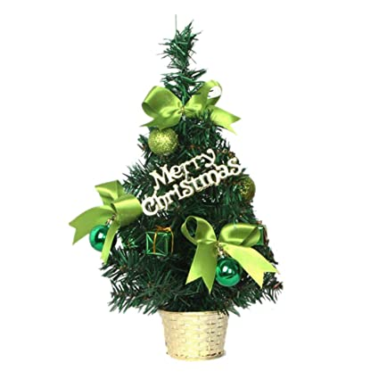 Christmas Tree Display Stand.Amazon Com Tabletop Christmas Tree Inkach Mini Xmas Tree
