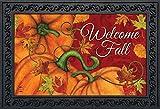 """Briarwood Lane Pumpkin Patch Fall Doormat Welcome Autumn Indoor Outdoor 18"""" x 30"""""""