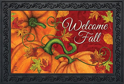 Briarwood Lane Pumpkin Patch Fall Doormat Welcome Autumn Indoor Outdoor 18