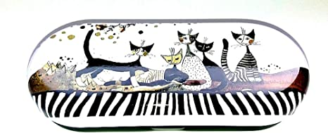Fridolin Rosina Wachtmeister Brillenetui Cats Sepia Katzen Neuheit Küche Haushalt
