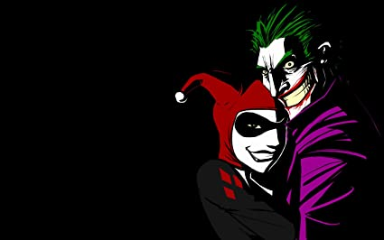 Posterhouzz Comics Joker Harley Quinn Hd Wallpaper Background Fine