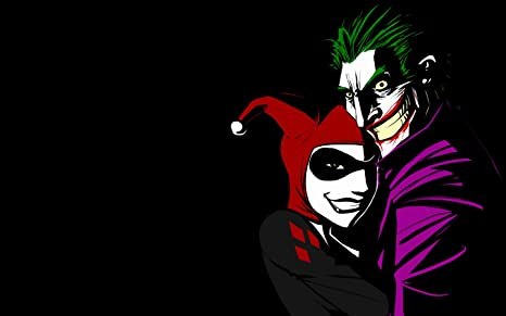 Posterhouzz Comics Joker Harley Quinn Hd Wallpaper