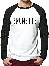 HotScamp Brunette - Men Baseball Top