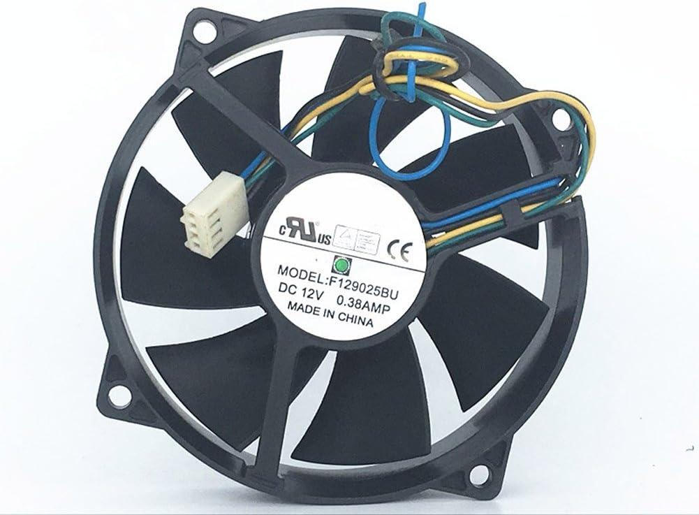 F129025BU 12V 0.38AMP 9CM 4 wire PWM fan