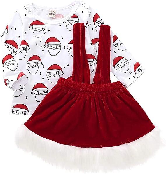 Baohooya Disfraz Elfo Navidad NiñAs Niños - Conjuntos Bebe ...