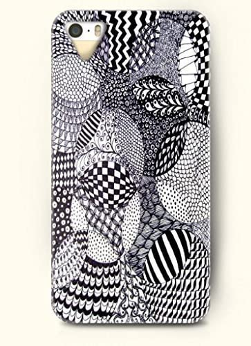 Sevenarc Phone Skin Apple Iphone Case For Iphone 5 5s 5c Excluded Black And White Zentangle Amazon Co Uk Electronics,Design Your Own Food Packaging