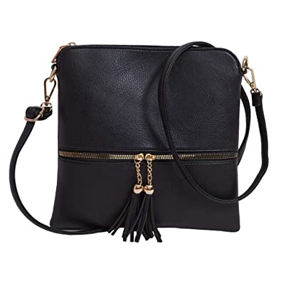 Lightweight Crossbody Bags For Women Black Leather Crossbody Bag Purse  Crossbody Bag Women Cross Body Bag e8bc4ccfebb9f