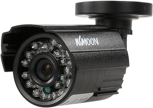 Opinión sobre KKmoon 1200TVL CCTV Cámara Bala 24 IR Lamps Visión Nocturna 1/3'' CMOS IR-Cut 3.6mm Impermeable IP66 para Seguridad Hogar PAL Sistema