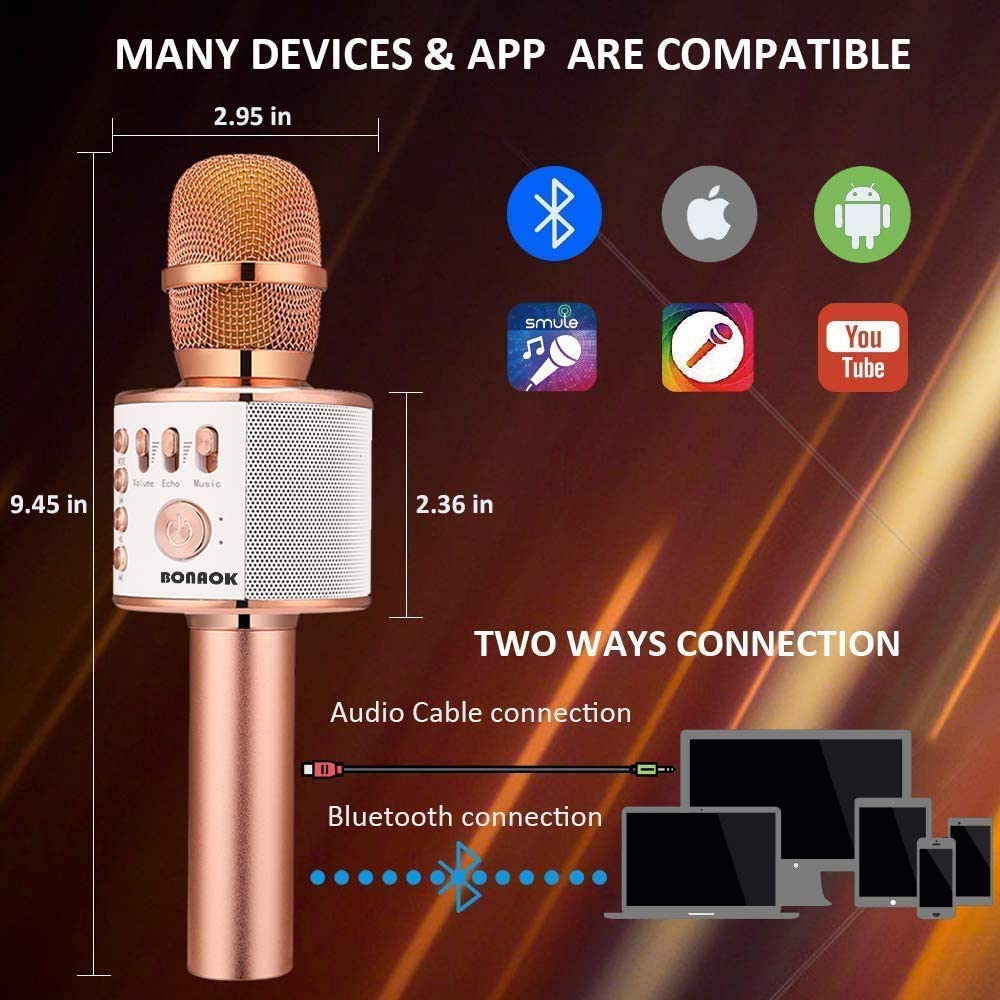 BONAOK Wireless Bluetooth