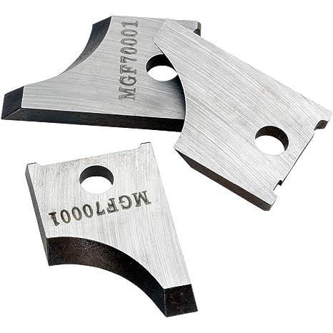Shop Fox D4736 - Cuchillos redondos para moldear (2,54 cm, 3 ...