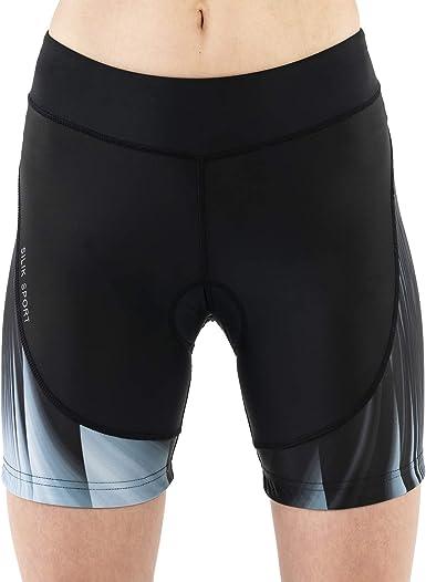 Mens Womens Cycling Shorts Underwear Bicycle Riding Stretchy Short Pants