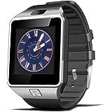 "Xcsource DZ09 - Smartwatch (pantalla de 1.56"", cámara de 2 Mp, Bluetooth, NFC), color negro"