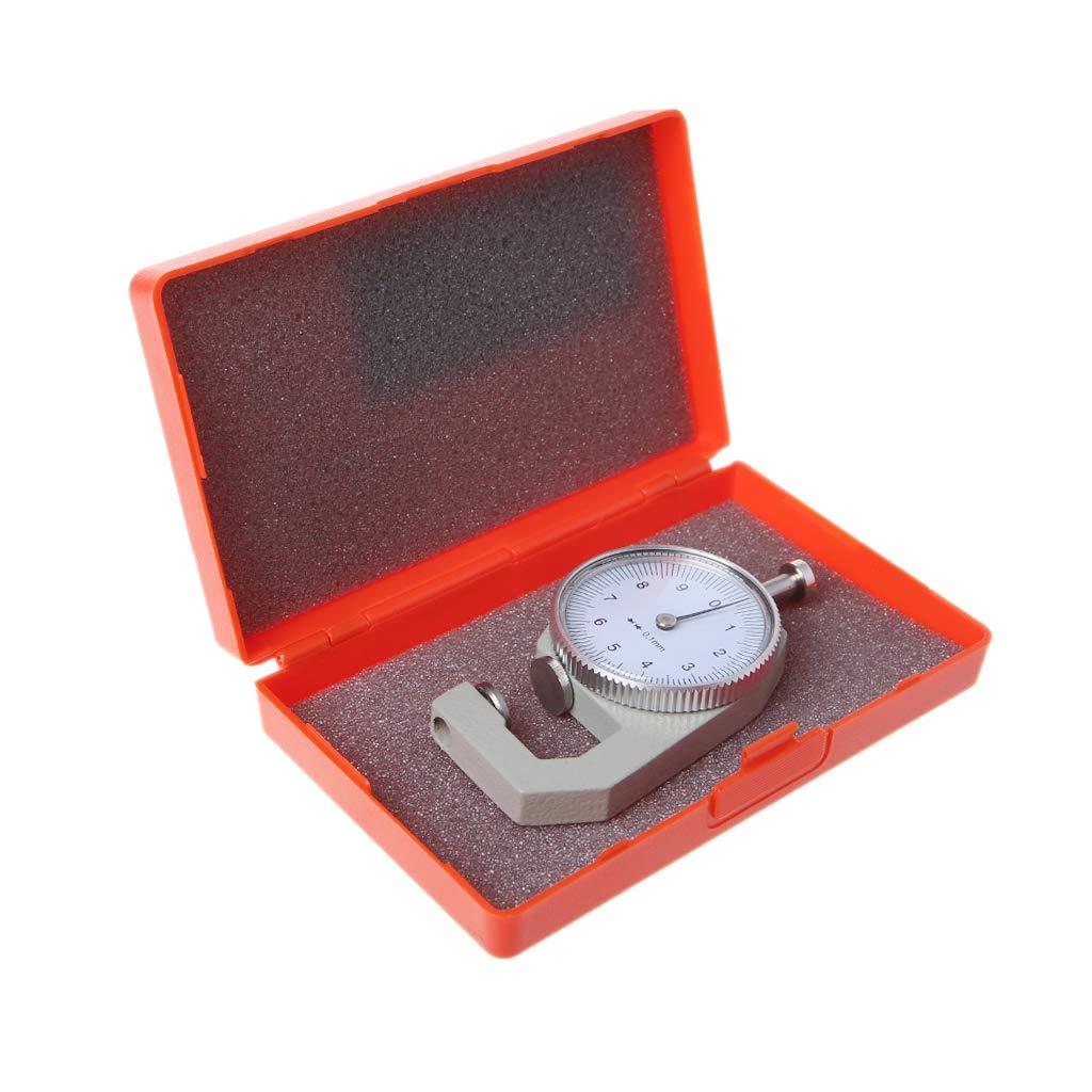 Ycncixwd Medidor de espesor de la esfera 10 mm, 0,1 mm