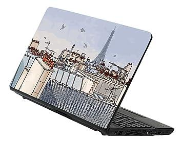 Decusto - Roof paris - adhesivo en vinilo para decorar tu portátil: Amazon.es: Electrónica