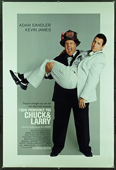 I Now Pronounce You Chuck Larry 2007 Original Advance One Sheet Poster 27x41 At Amazon S Entertainment Collectibles Store