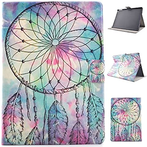New iPad 9.7 2017 case, Jessica Painted Series Lightweight Premium PU Leather Folio Flip Smart Stand Wallet Case with Built in Card Slots & Money Slot for Apple New iPad 9.7 inch (2017 (Elsa Ipad Air Case)
