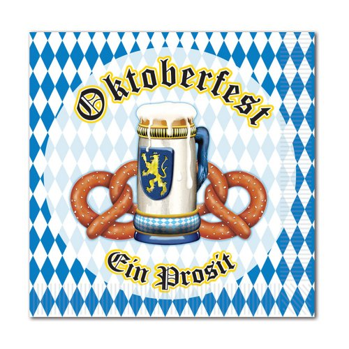 Oktoberfest Beverage Napkins : package of 16