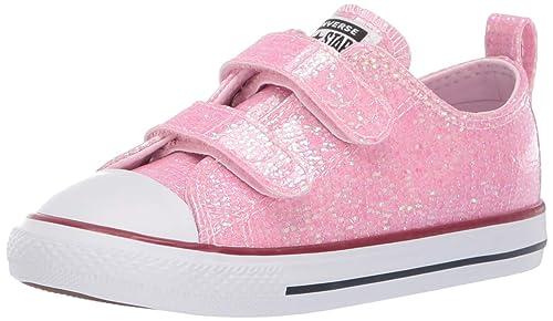 Converse Laufschuhe Mädchen, Farbe Pink, Marke, Modell Laufschuhe Mädchen Chuck Taylor All Star 2V OX Pink