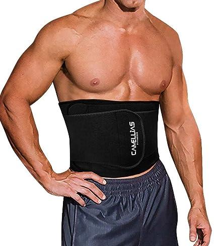 37b41e4f50 SHAPERX Waist Trimmer Weight Loss Ab Belt - Fat Burner Wrap Waist Trainer  Men