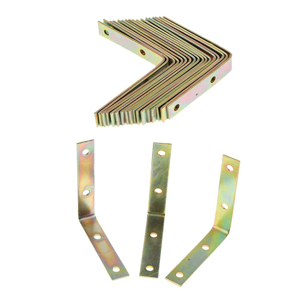 Codes Dangle De Renforts Dangle En M/étal Robuste /écrans FLAMEER 20Pack Fen/êtres Coffres 30 x 30 x 29mm Support D/étag/ère Pour Meubles Supports En L /à Angle Droit