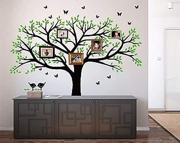 Amazoncom Lskoo Family Photo Frame Tree Wall Decals Family Tree