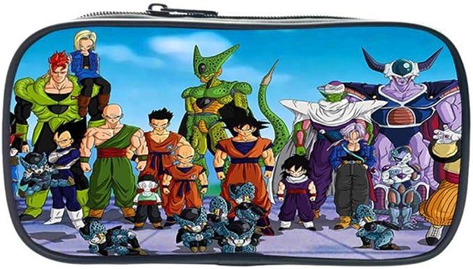 Twhoixi Anime Dragon Ball Goku Estuche para lápices Estudiantes Niños Niñas Estudiante Estuche para lápices Titular de papelería para niños Mejor Regalo: Amazon.es: Equipaje