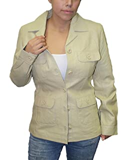 Mens Western Style Fashion Jacket Genuine soft Leather-Snaps Closure/_Camel