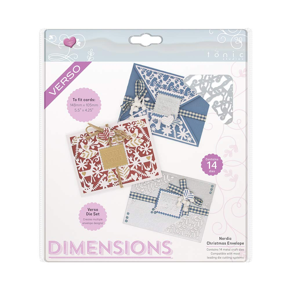 Grey Tonic Studios Craft Die A4 2168e Stainless Steel