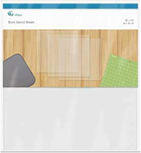 15 Pieces 6 mil Blank Stencil Material Mylar Template Sheets for Stencils, 12 x 12 inches