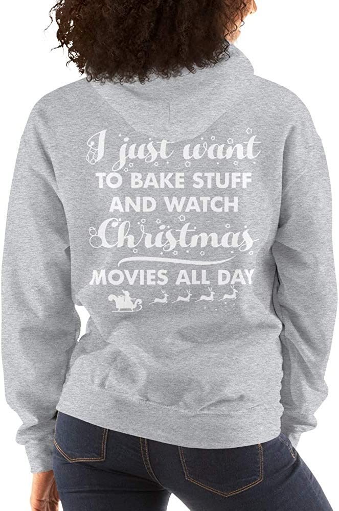 I just Want to Bake Stuff Unisex Hoodie