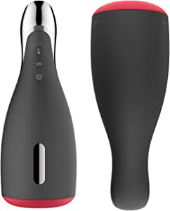 Rechargeable Electric Mens Handheld Heating Massaging Waterproof Massager Toys Male Large Frequency Massage Toy