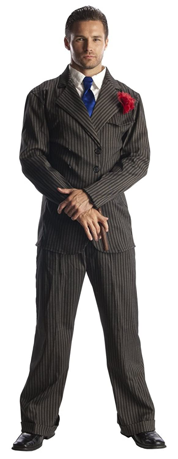 1940s Men's Costumes: WW2, Sailor, Zoot Suits, Gangsters, Detective Rubies Costume Pee Wee Herman Suit Costume $49.99 AT vintagedancer.com