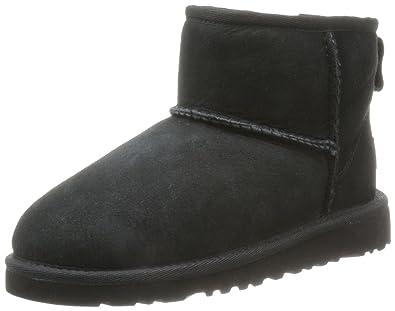 8fccc78c083 UGG Unisex Kids' Mini Classic Ankle Boots, Black (Nero), 3 UK ...