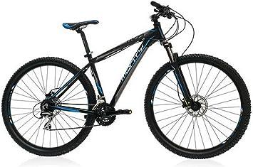 Monty KY29 Bicicleta, Unisex Adulto, Negro, 20