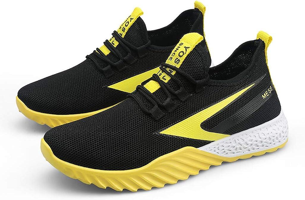 YGbuy-Zapatillas Suela Bicolor Running para Hombre Aire Libre y Deporte Transpirables Casual Zapatos Gimnasio Correr Sneakers: Amazon.es: Zapatos y complementos