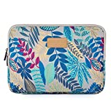 Black Friday Deals Week -Valentoria 13.3 Inch Laptop Sleeve Case-Colorful Vintage Leaves Style Ultrabook Sleeve Macbook Bag For Asus/Dell/iPad Pro/Lenovo/Macbook Pro/Macbook Air/Surface Pro 4 (Gray)