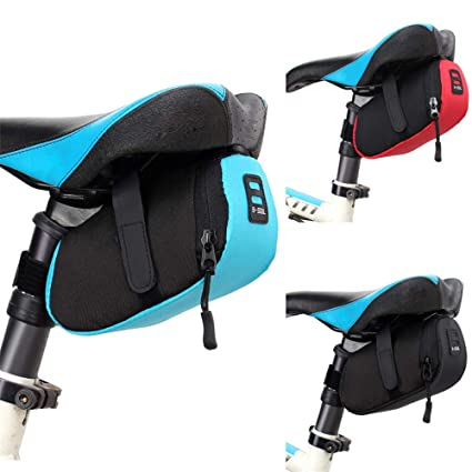 Amazon.com : CC 3 Color Nylon Bicycle Bag Bike Waterproof ...