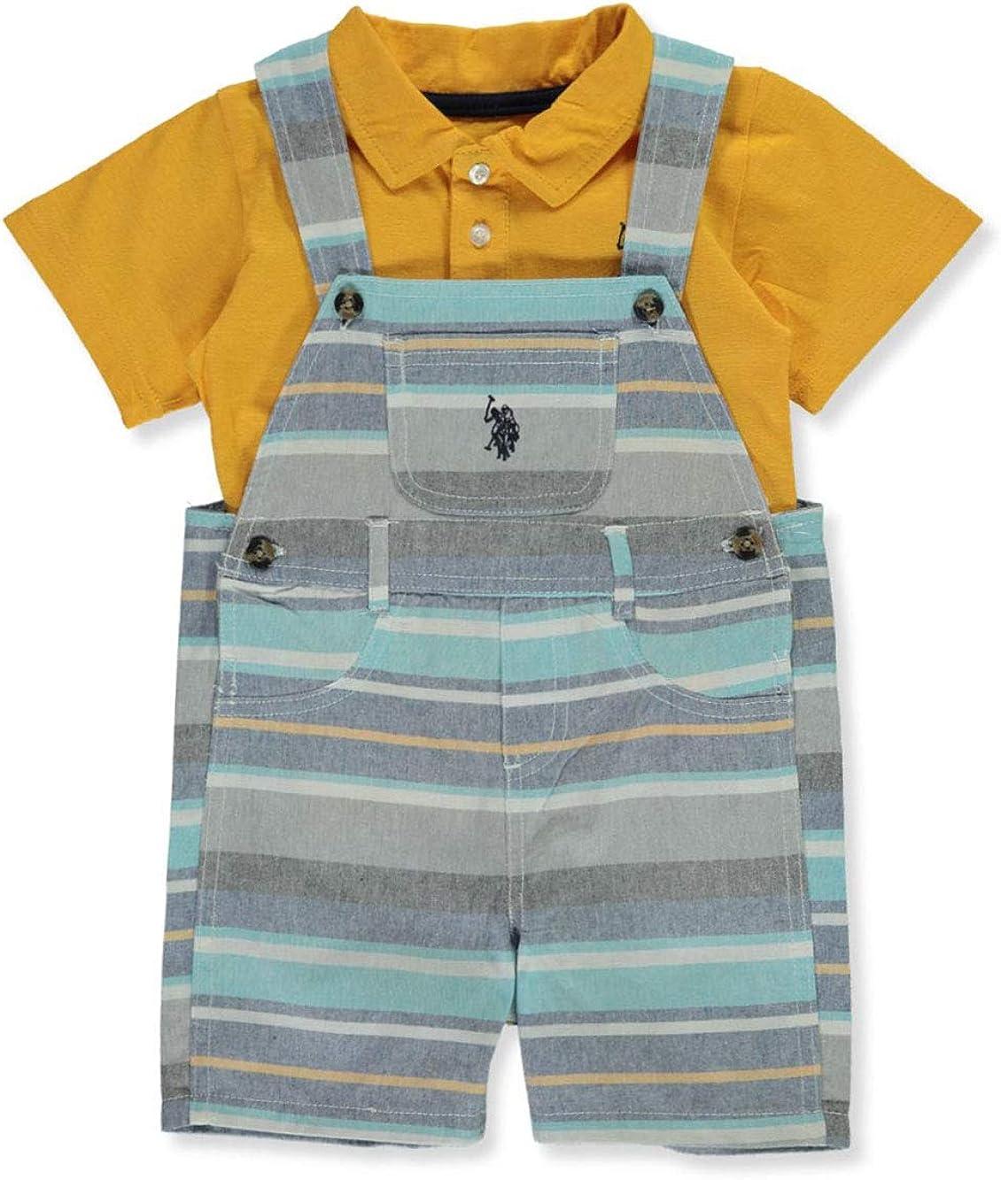 U.S Baby Boys Shorts Set Polo Assn