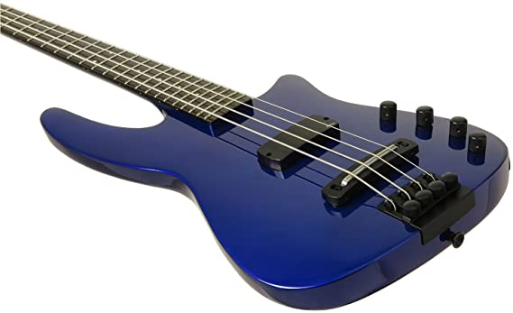 Diseño de NS WAV 4 cuerdas Bajo eléctrico guitarra cobalto metálico: Amazon.es: Instrumentos musicales