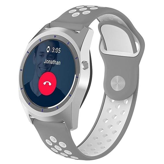 Kanzd Replacement Soft Silicagel WatchBand Strap For ZTE Quartz Smartwatch (J)