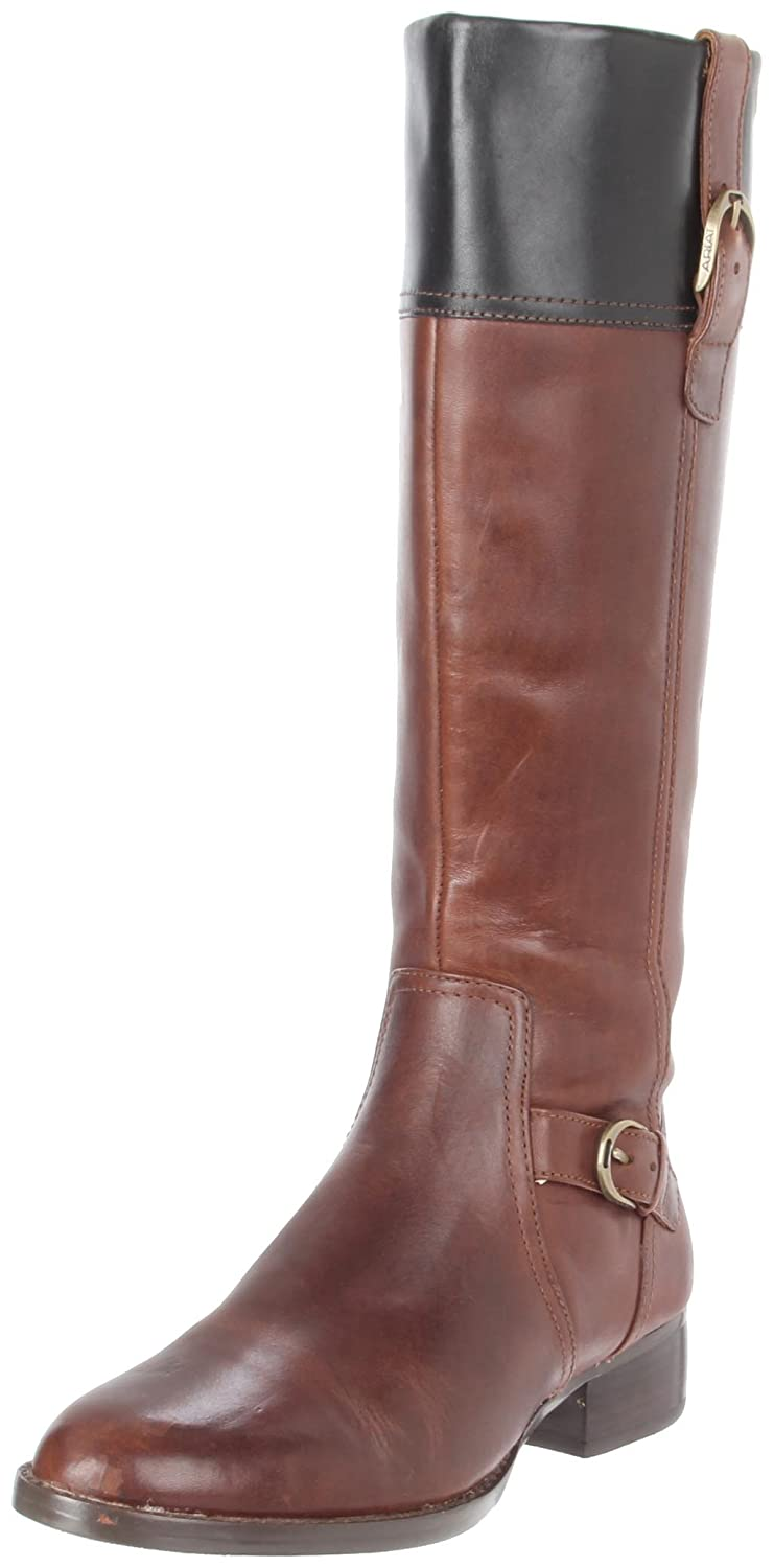 Ariat Women's York Fashion Boot B0028AE5VU 8.5 B(M) US|Brown/Black