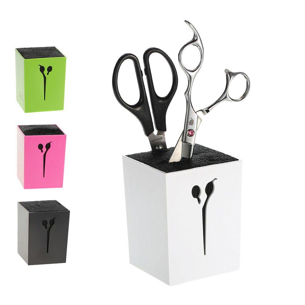 Anself Professional Hair Scissor Holder Hair Salon Tools Holder Hair Scissor Case For Barber Scissor Socket W4199-BOA76Z