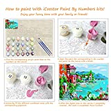 iCoostor Paint by Numbers DIY Acrylic Painting Kit