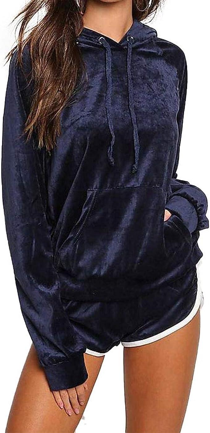 Ladies Fleece Loungewear Set Womens Hoodies Teddy Bodysuits Tracksuits Pyjamas
