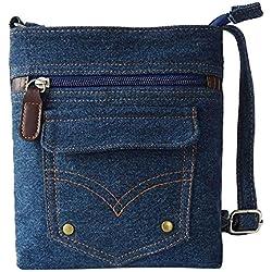 JD Million shop New Fashion Lady Denim Handbag Women Messenger Hobo Bag Shoulder Bags Tote Purse JUL13 drop shipping
