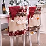 Mbuynow Fundas Decorativas navideños para sillas con ...